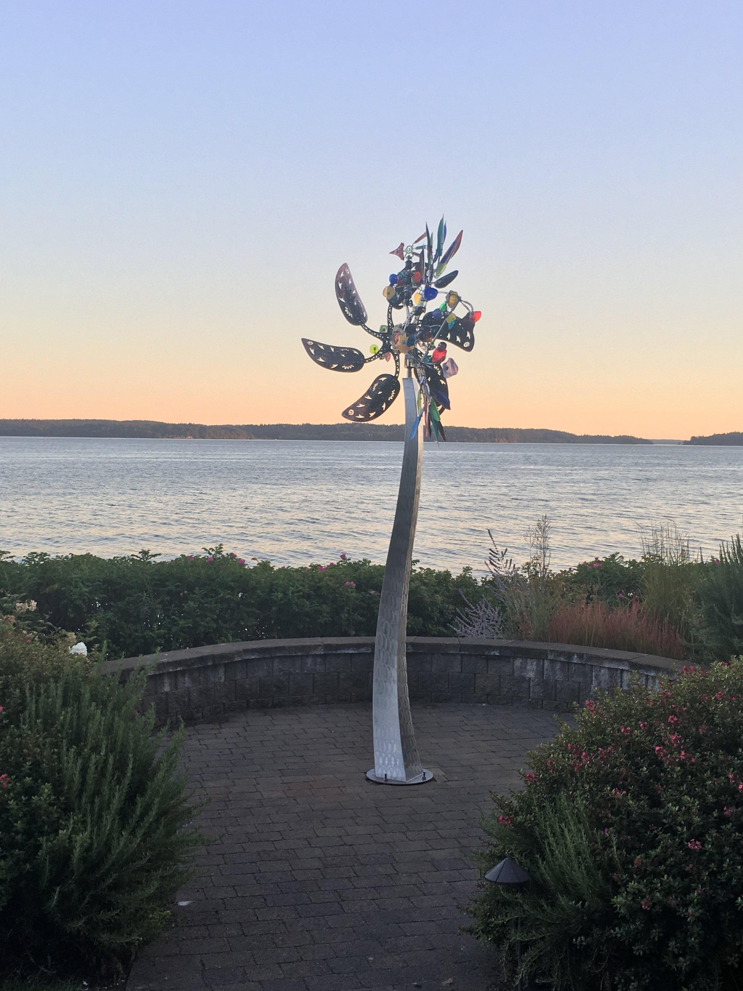 Leafy Phoenix Sunset