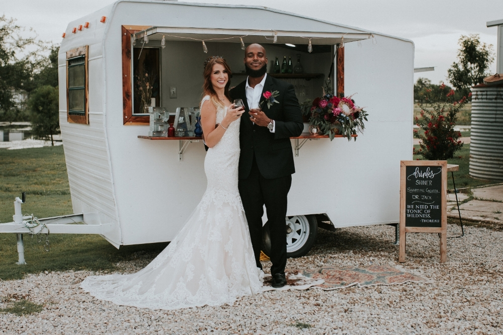 WildBlu Events - This camper can be used for anything from your bar to your crepe brunch!