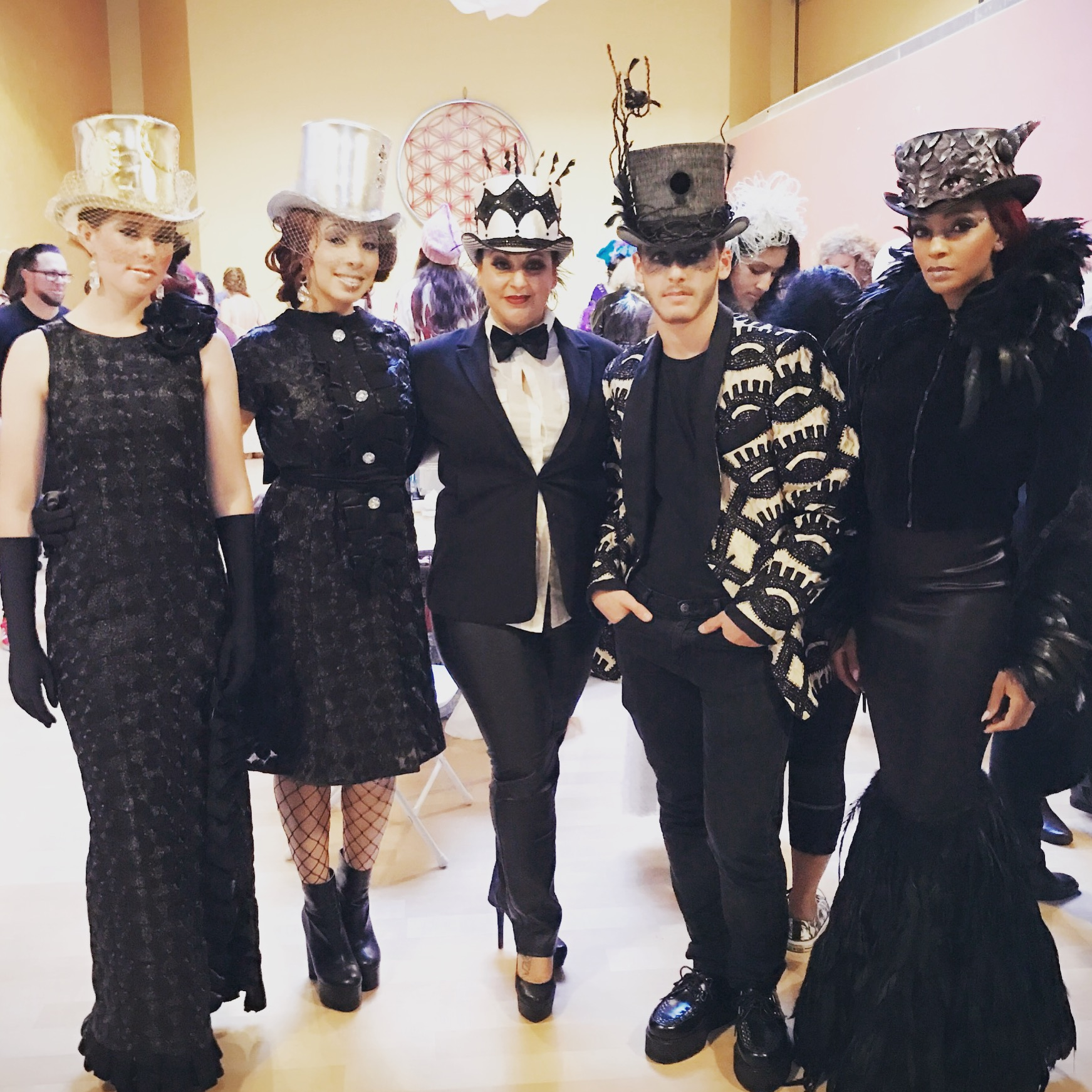 Couture Hats for Pivot: The Art of Fashion Runway