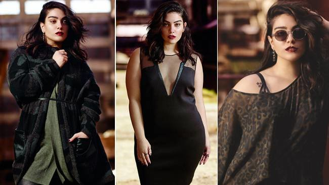 Model and blogger Nadia Aboulhosn on plus-size fashion