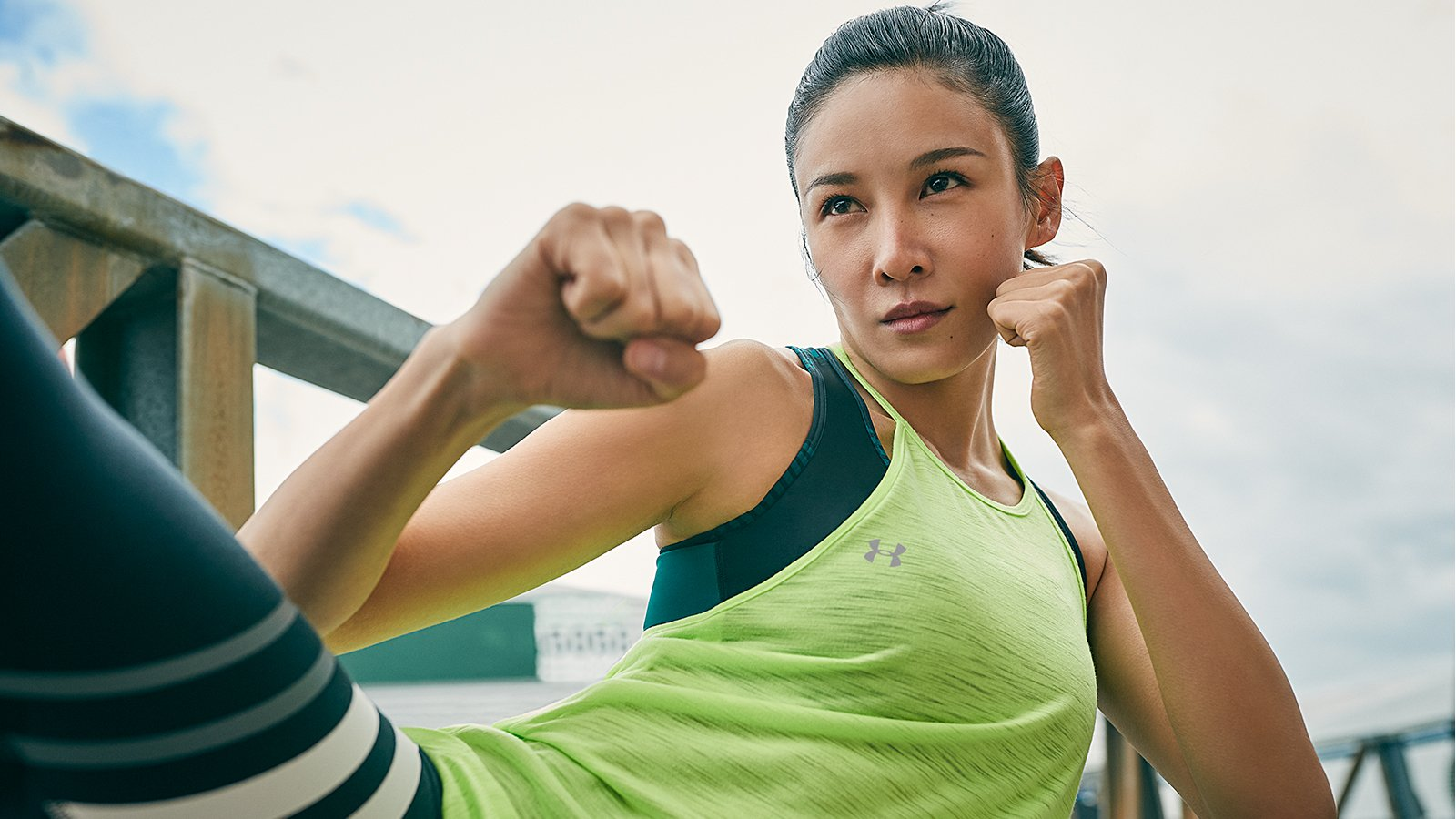 Zoe Zhang for Under Armour's Unlike Any campaign. (Photo: UnderArmour.com)