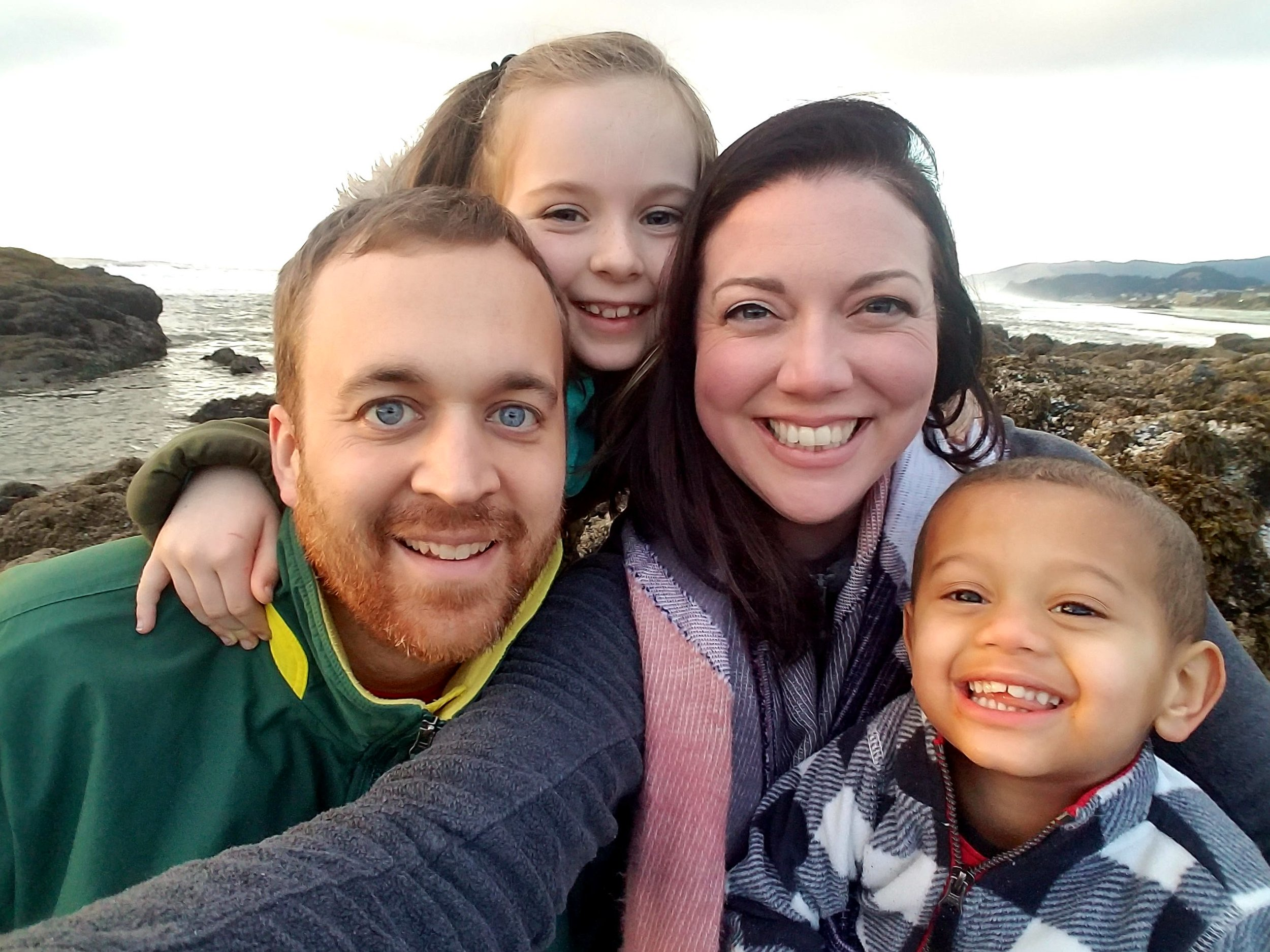 Happiness one day at a time through foster care adoption -