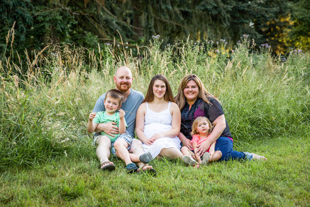 An open adoption story built on love and trust -