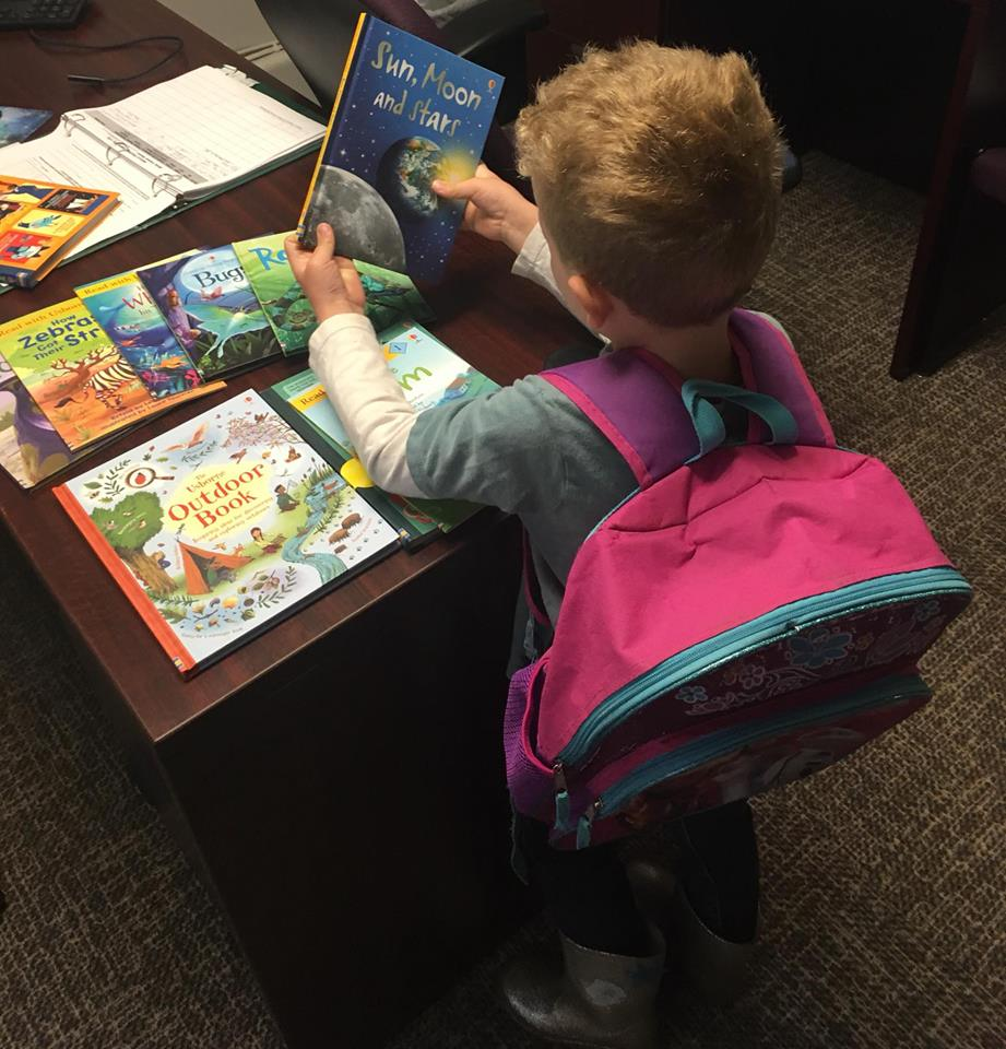 The children we serve at the Nest are enjoying new books thanks to a generous donation by Nikki West.