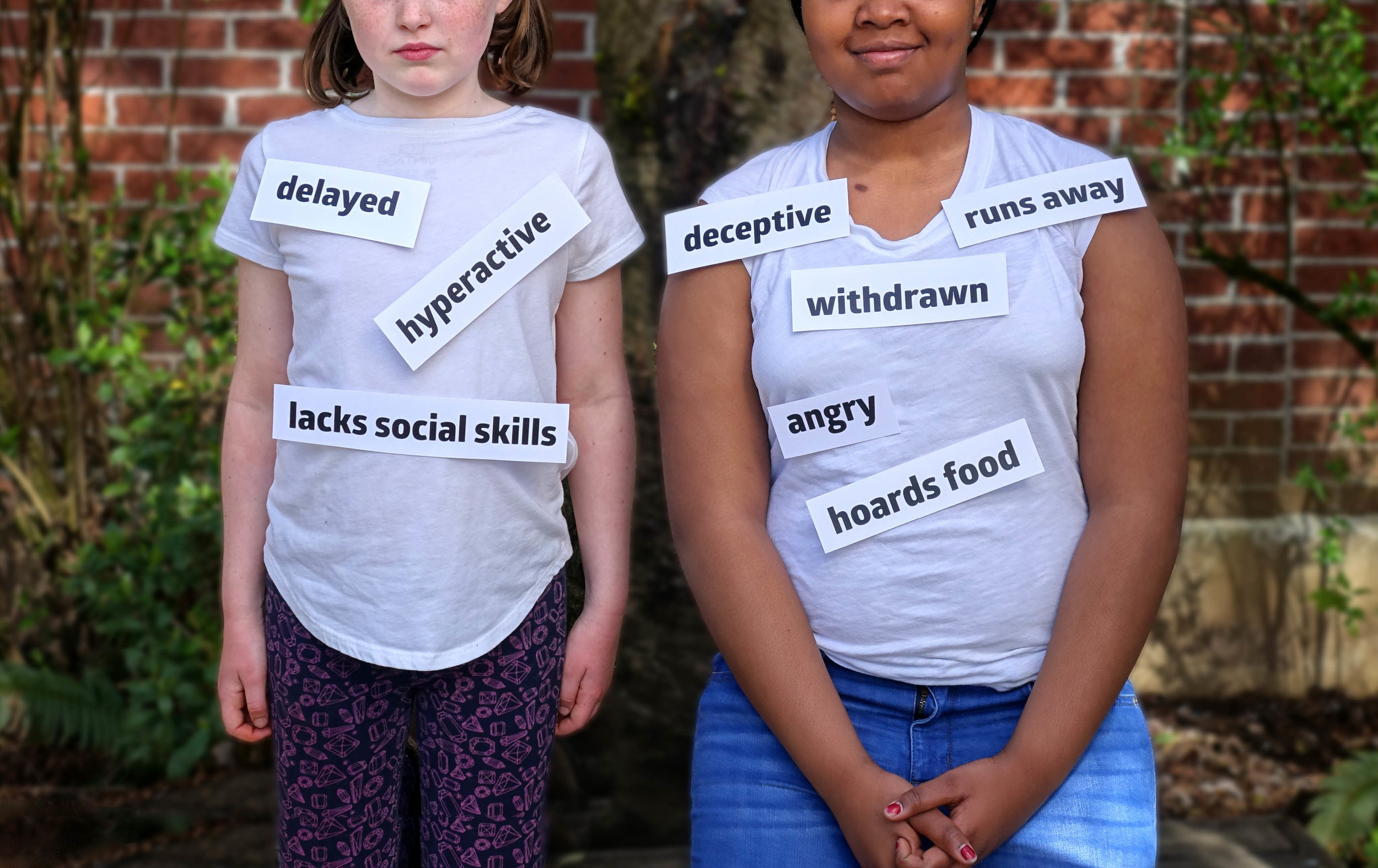 Children in foster care get stuck with labels -