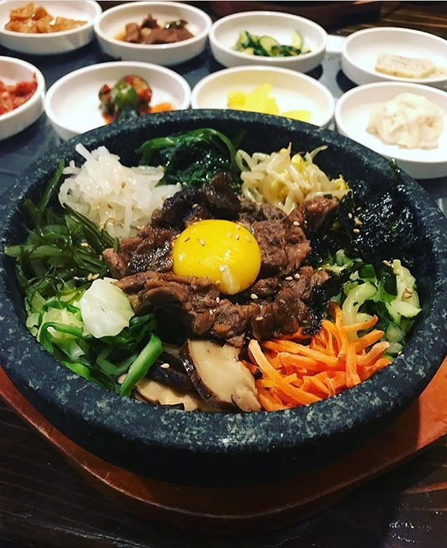 We're serving up big bowls of Bee Beem Bhop for $7 during lunch. Stop by any of our locations and fuel up! 📷 cred @_kkelley_ #daegee #pigout #bibimbap #denvereats