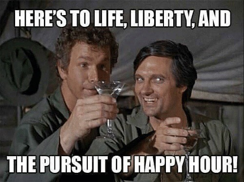 Cheers to the Good Life. Join us for Happy Hour from 3-8pm. #pigout #bottomsup #denverhappyhour