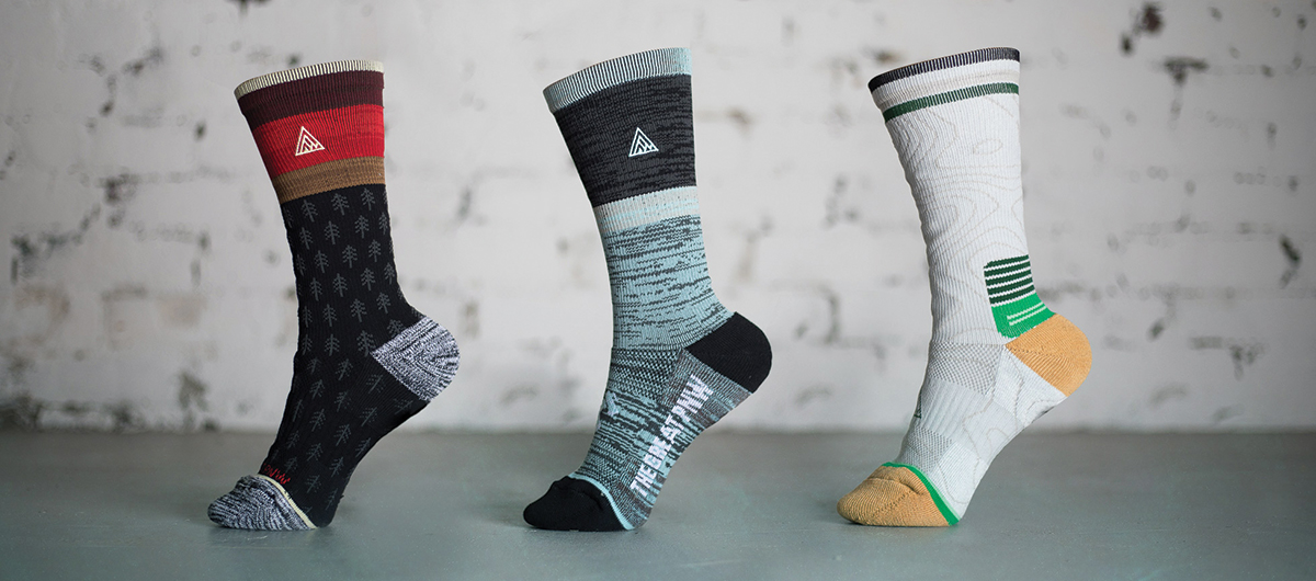 Sock designs and photography