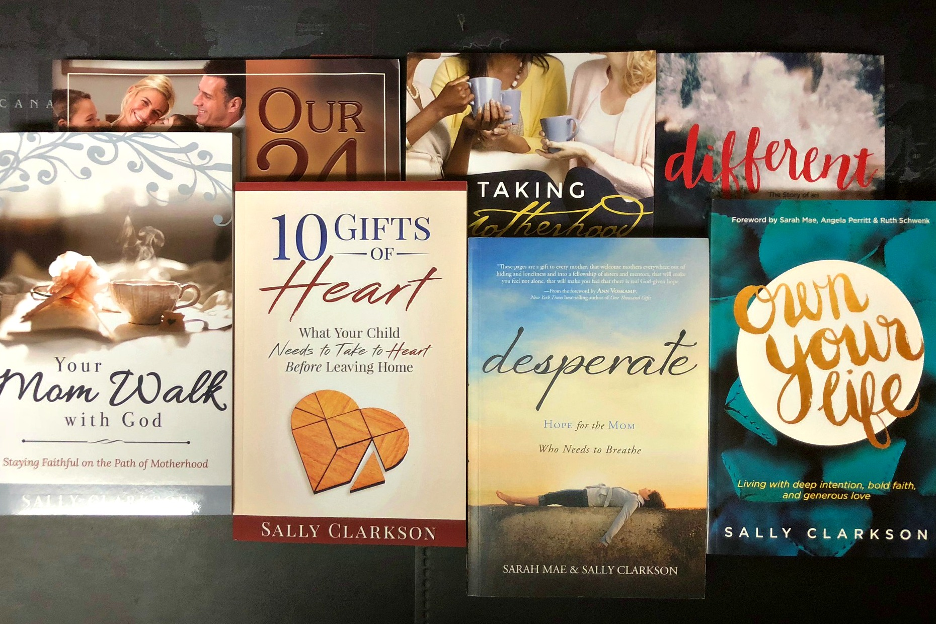 Sally book talks - Select from a growing list of special series by Sally about her books such as 10 Gifts of Heart, Own Your Life, and others planned. Only here.