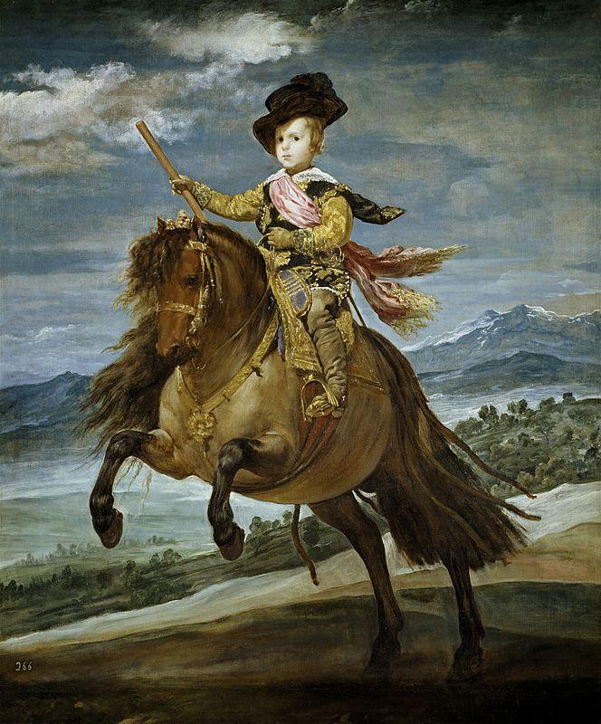 Portrait of Prince Balthasar Charles