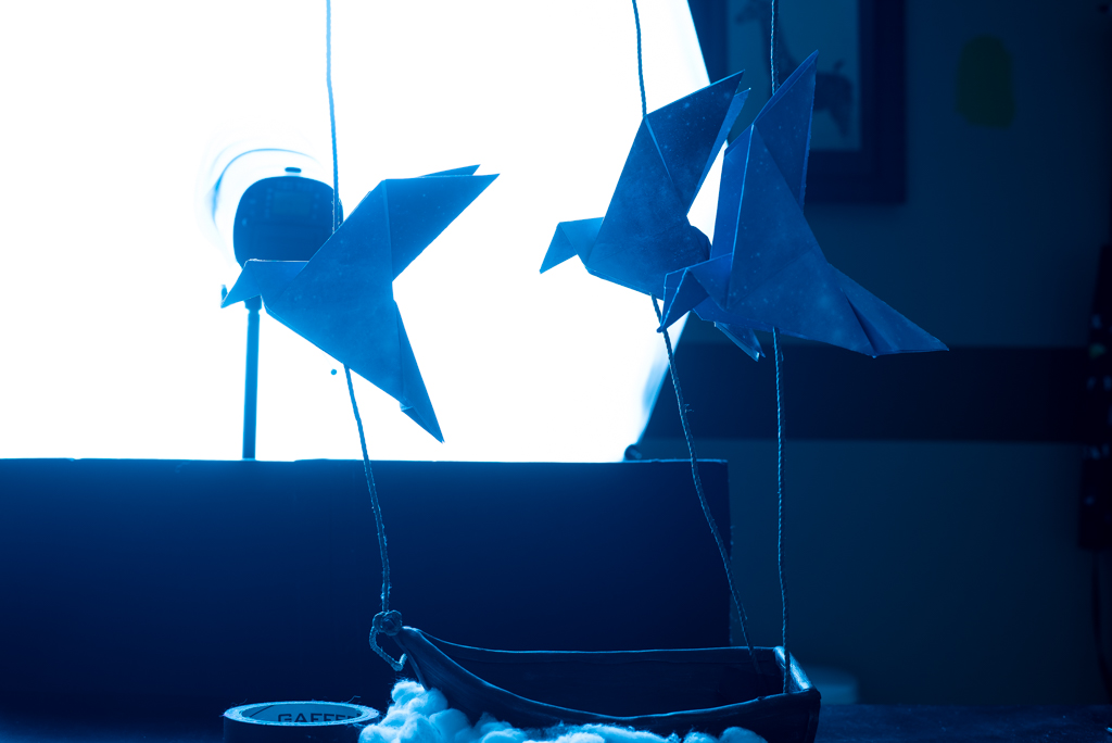 Flying Origami Birds