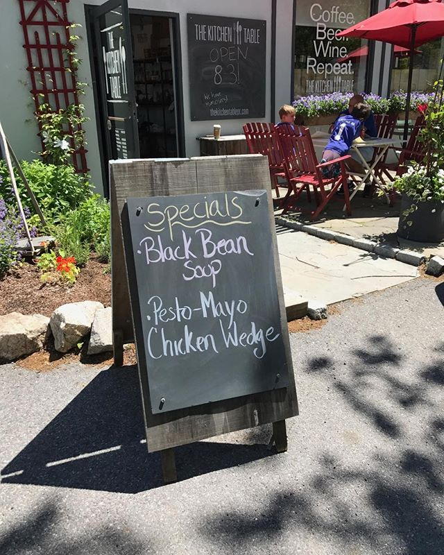 Just a few minutes until lunch! Come enjoy two of our most popular specials 😊 #LunchSpecials #EatLocal #EatHere #OutDoorSeating #BreakfastAllDay