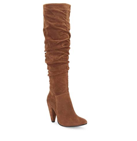 Similar Chestnut OTK Boots under $70