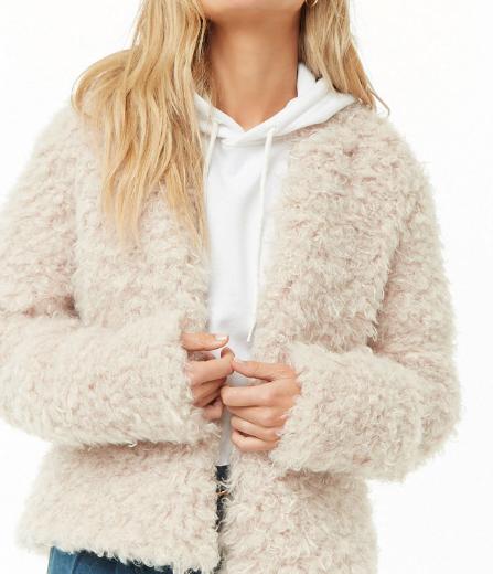 Under $40 fluffy jacket