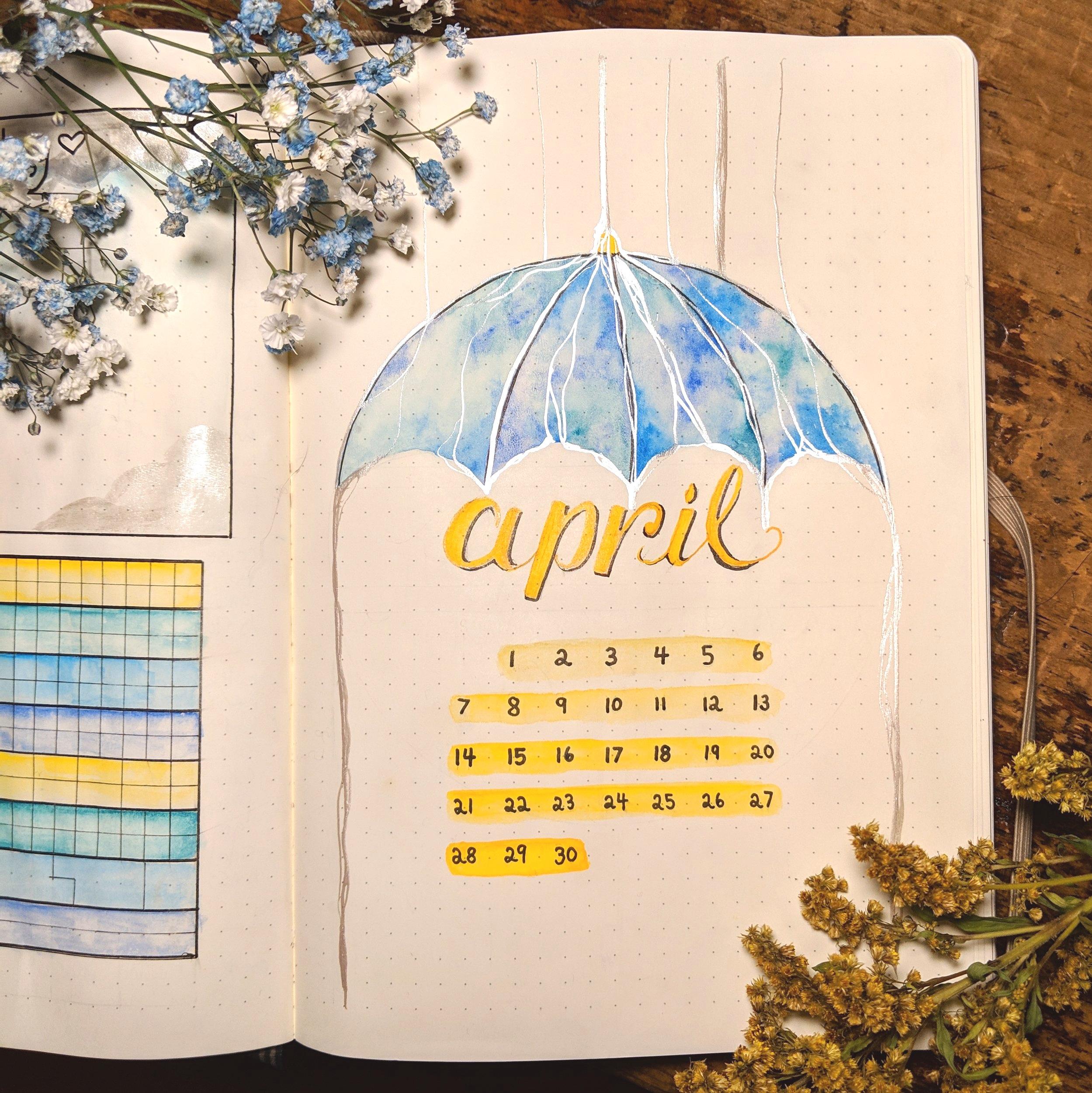 April Layout