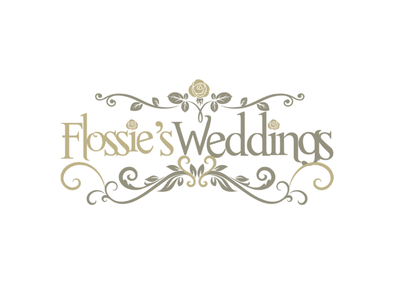 Flossie's Weddings Logo