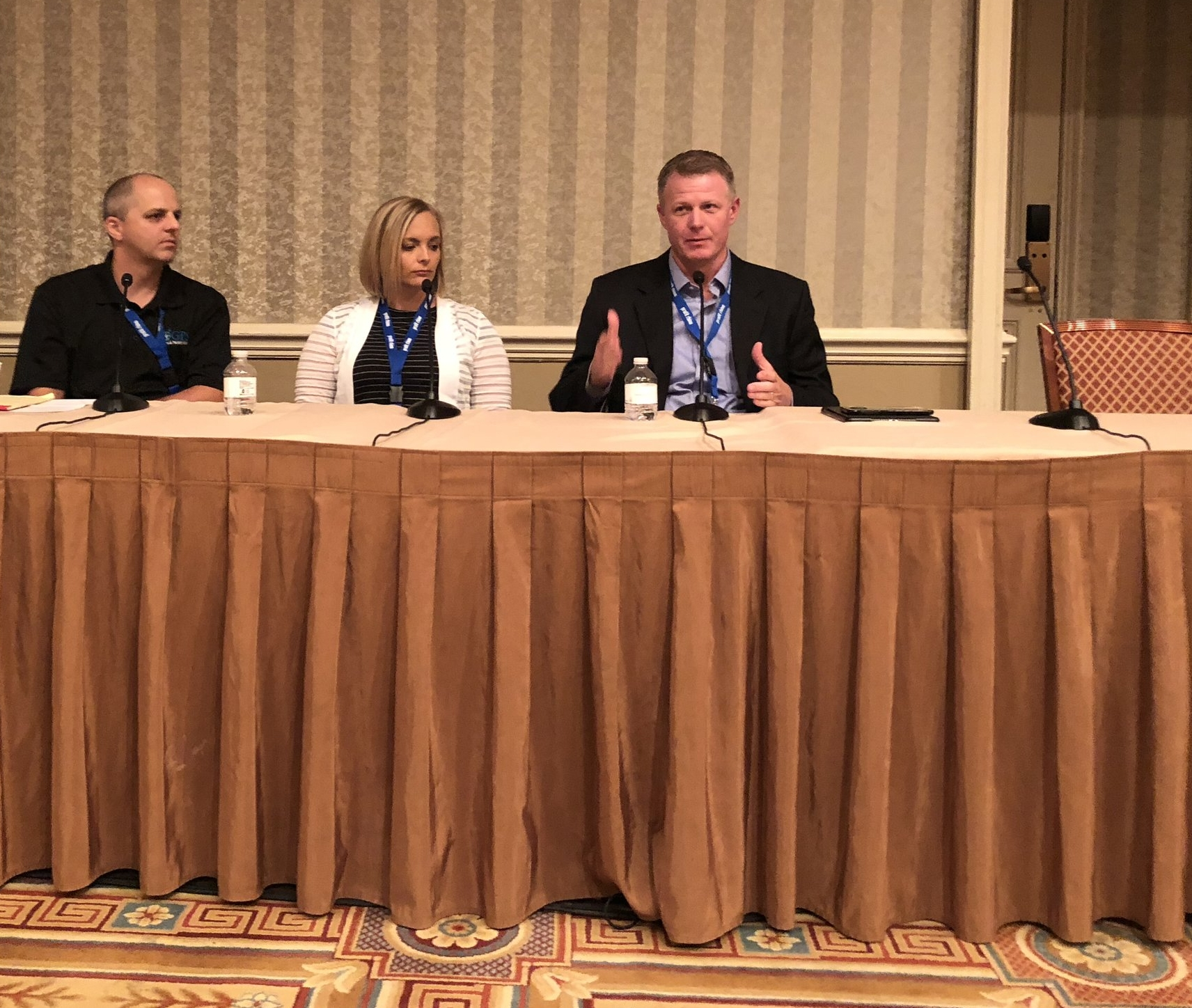"Ryan Snow, ""Family In Business"" panel guest 2018 Service World Expo in Las Vegas, Nevada."
