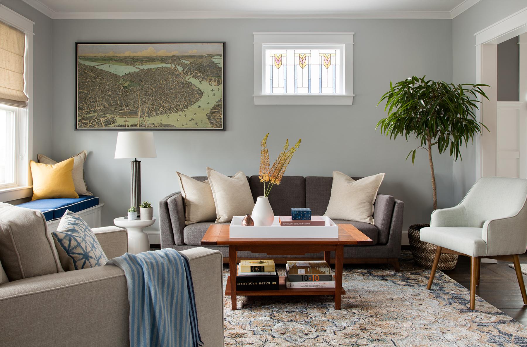 Marine Road living room