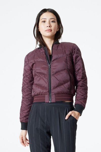 BMG Mila Bomber - my favorite jacket for Fall!