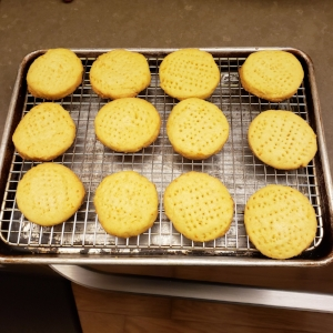 LEG DAY TREAT - SHORTBREAD COOKIES