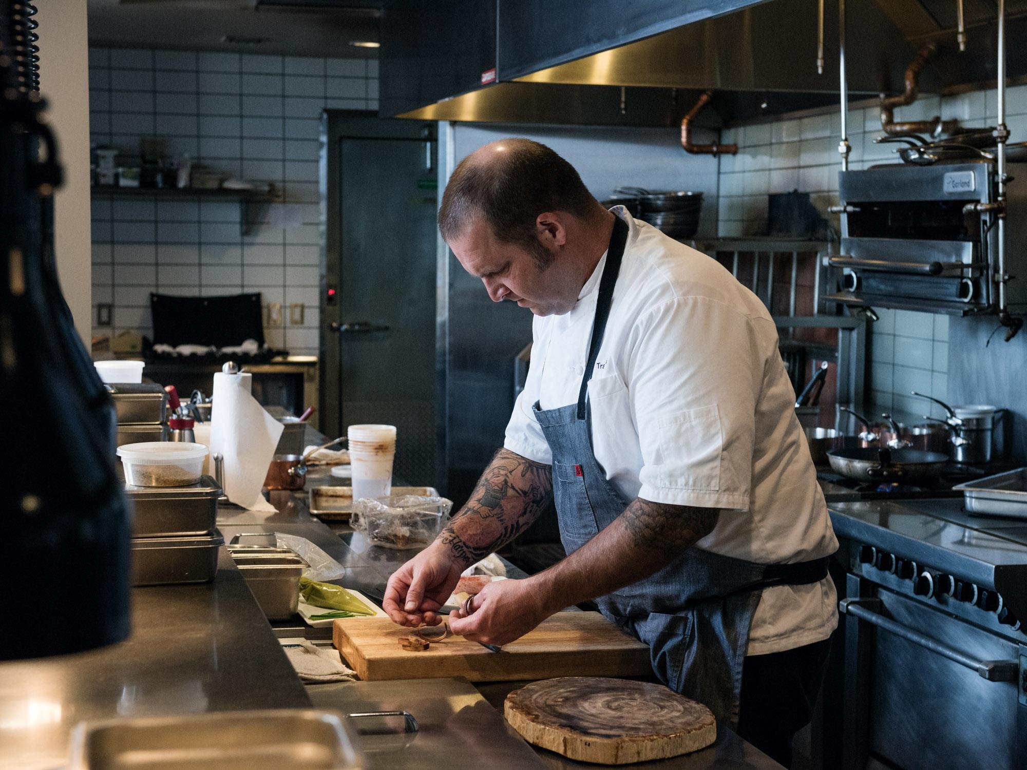 Chef Travis Flood - Alexander's
