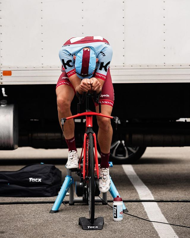 Lean into it w/ @katushacycling.