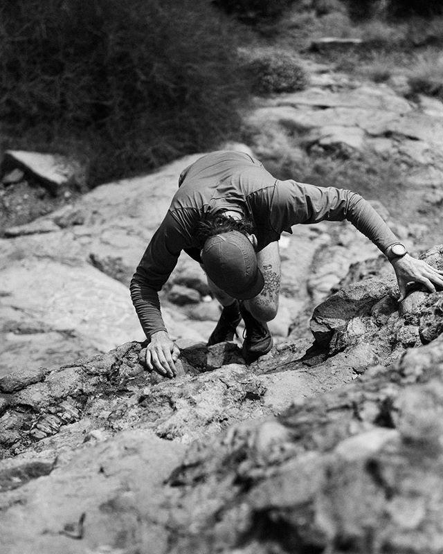 The Strong Way Up.  @andrewgohlich @arcteryx @arcteryxlabrea
