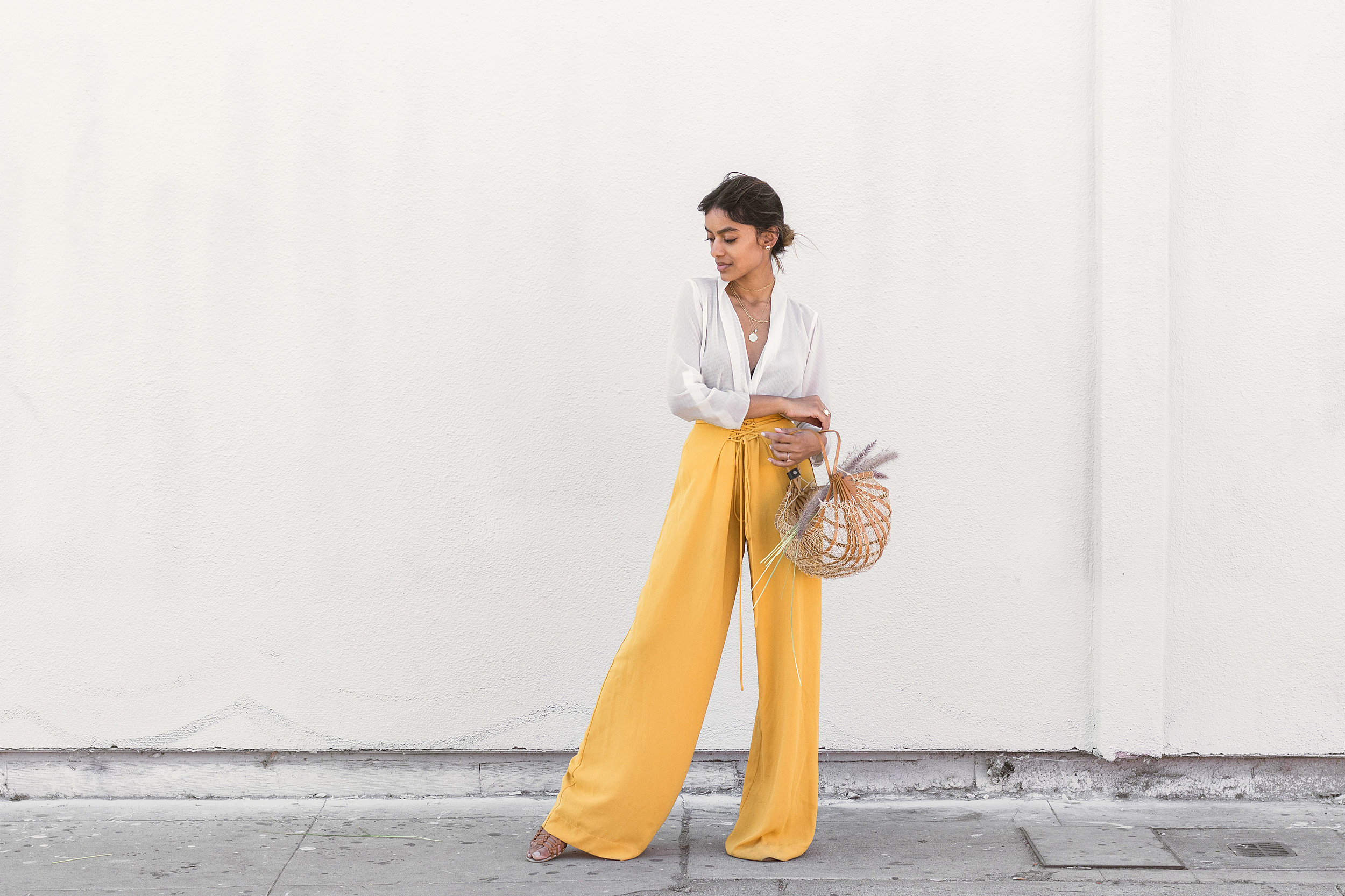 Chai Time by Stella Simona_ Kristen_White Top_Yellow Pants_13.jpg