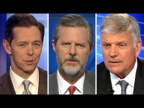 Ralph Reed, Jerry Falwell Jr., and Franklin Graham share first impressions of Donald Trump with Fox News after a meeting on June 21, 2016.