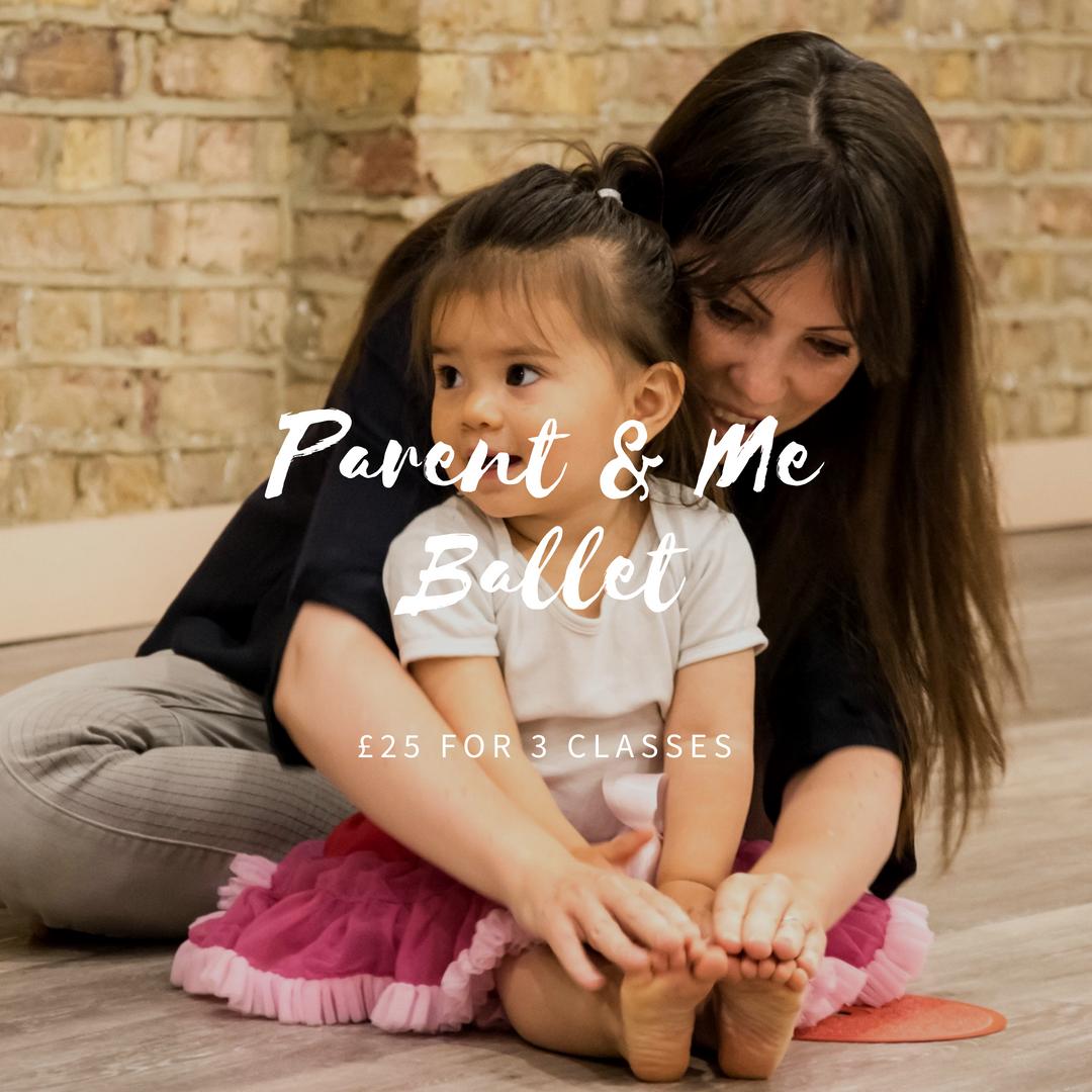 Parent and Me Ballet