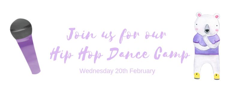Hip Hop Dance Camp