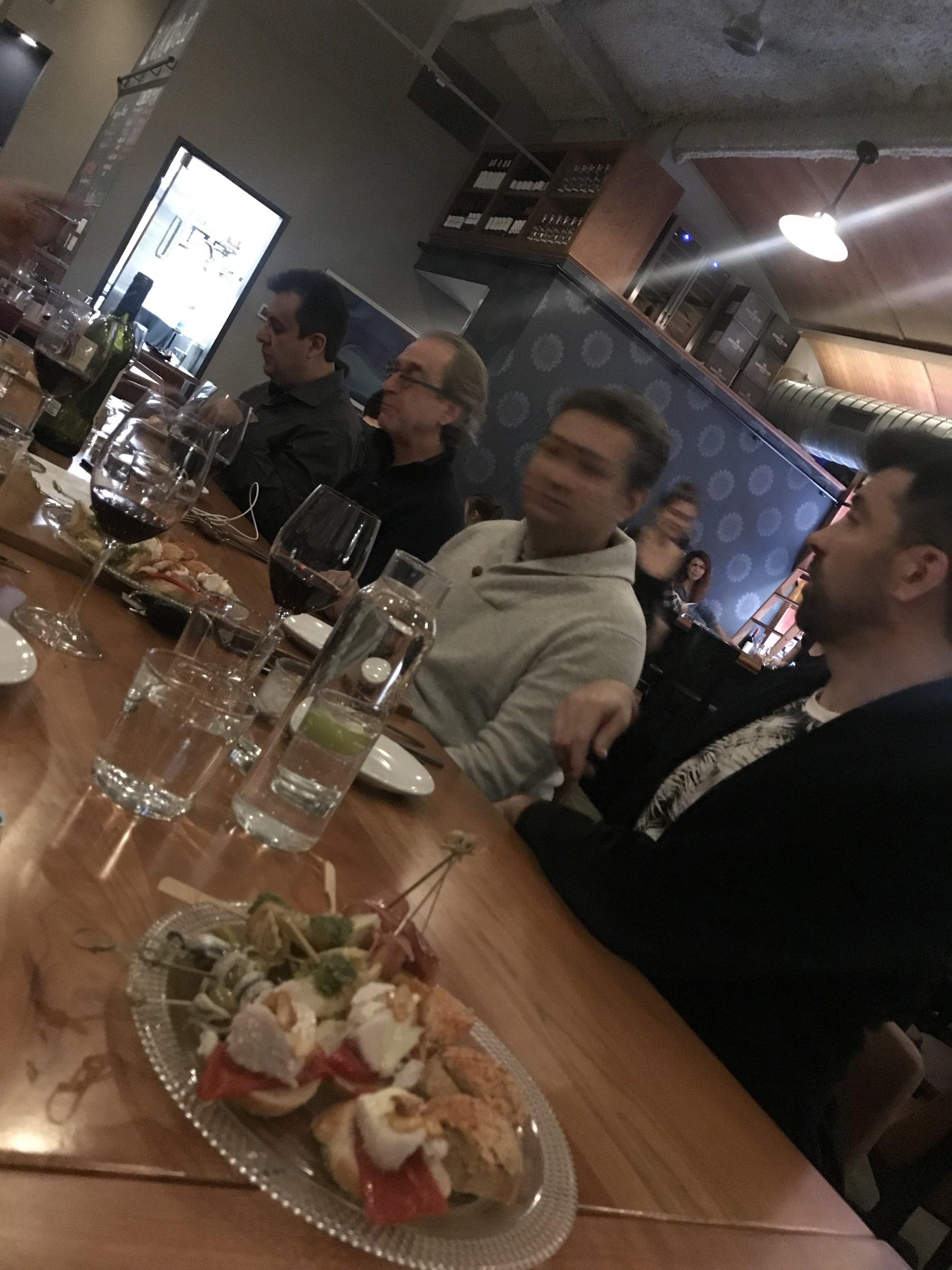 An international table