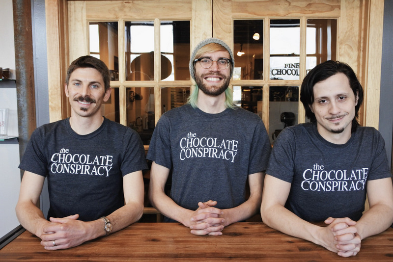 Chocolate Conspiracy team