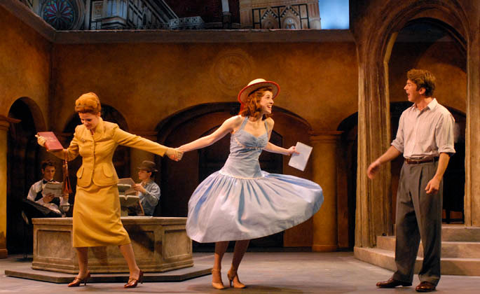 """As Clara in """"The Light in the Piazza"""" at Pittsburgh Playhouse"""