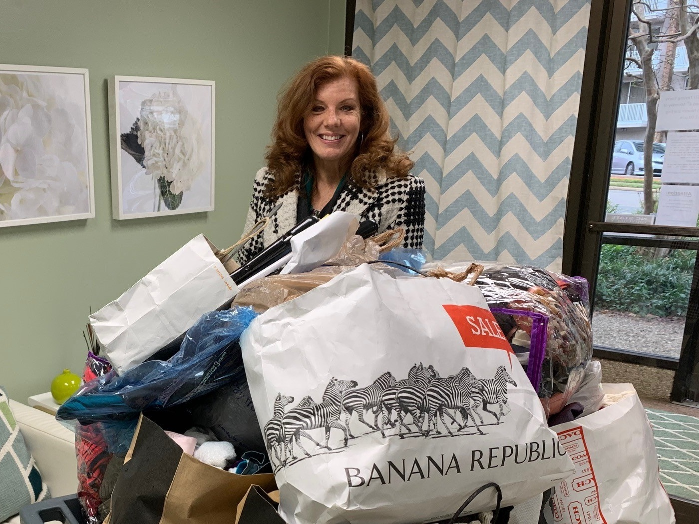 """Caring Crate Drive - Hosting a Caring Crate Drive is a wonderful way to get involved at The Women's Center. Your corporate group, civic group, church or family group can collect items around a specific """"theme,"""" place them in a 20- to 31-gallon stackable, plastic storage tub with a lid and fill it with items from your chosen category. Click on the button below to find out more, download a printable flyer and sign up today!"""
