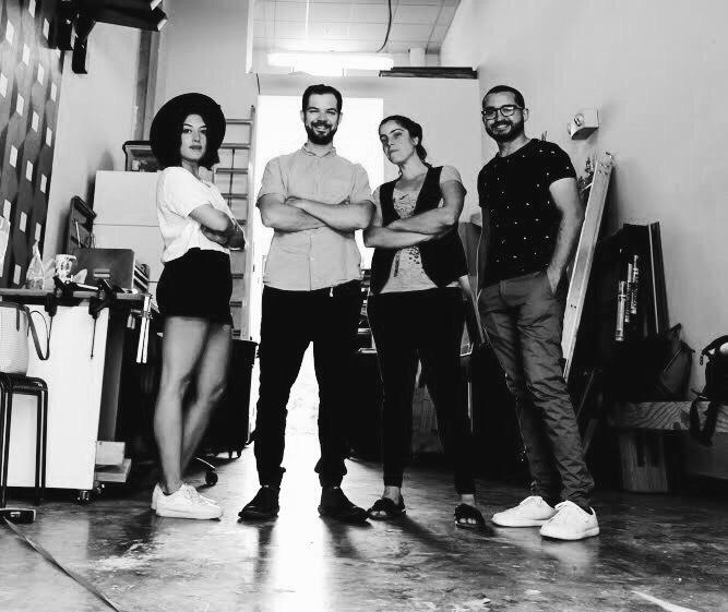 Natalia Brizuela-Pires (Art Director), Hector Montalvo (Architectural Designer), Julieta Guillermet (Lead Architectural Designer), and Edwin Coimbre (Architectural Designer).   ©Hector Montalvo Photography