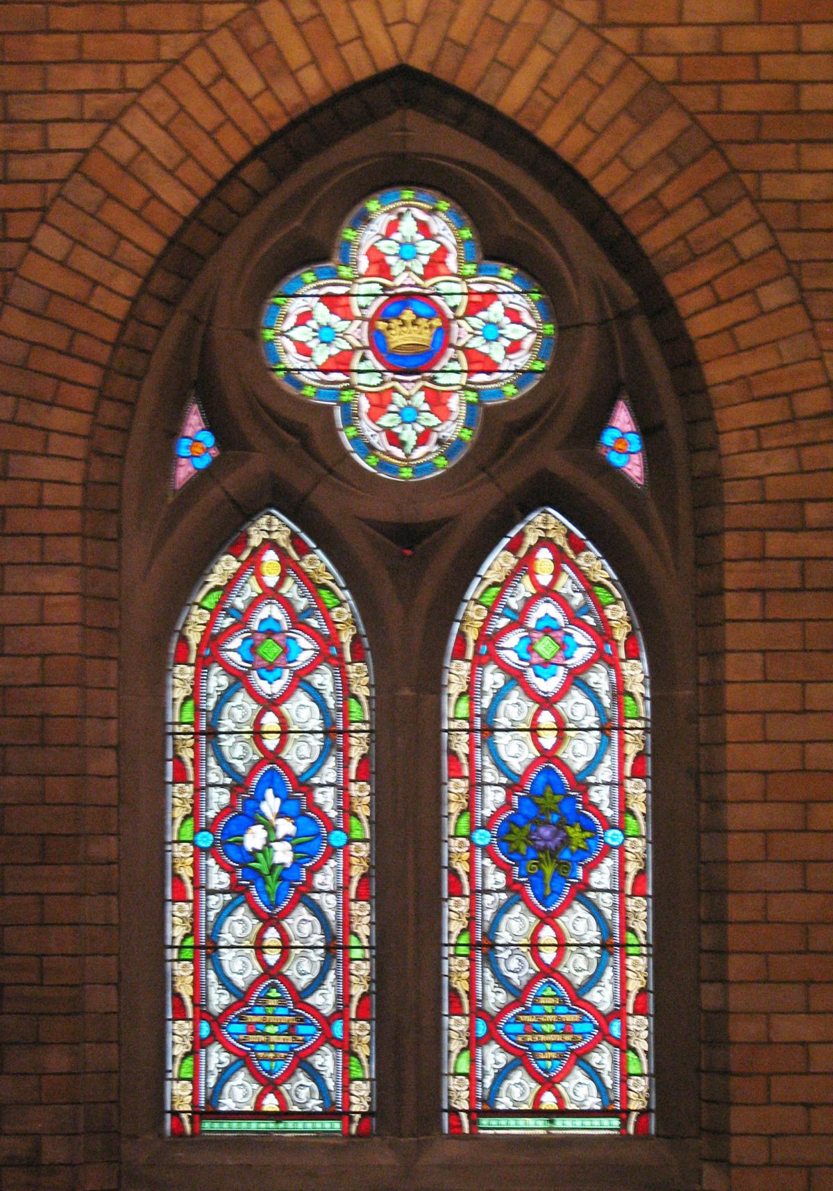 Charles F. Haseltine window