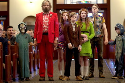 The cast of  Captain Fantastic