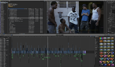 Clark's timeline in FCPX