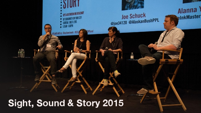 Reality TV Panel at Sight, Sound & Story 2015 RedShark News