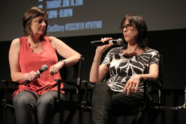 L-R: Naomi Geraghty and Lynne Willingham, ACE.