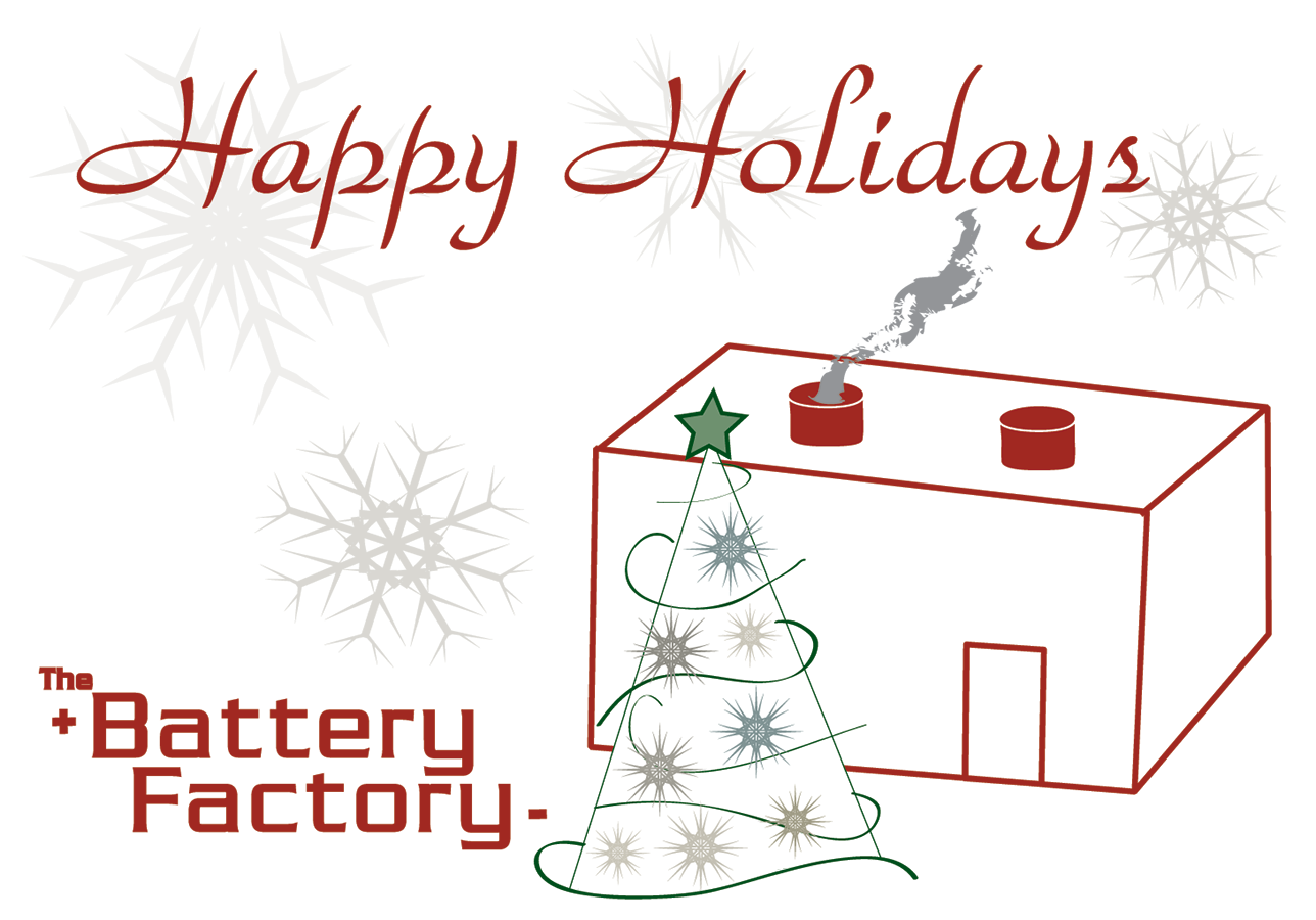 The Battery Factory Holiday Card