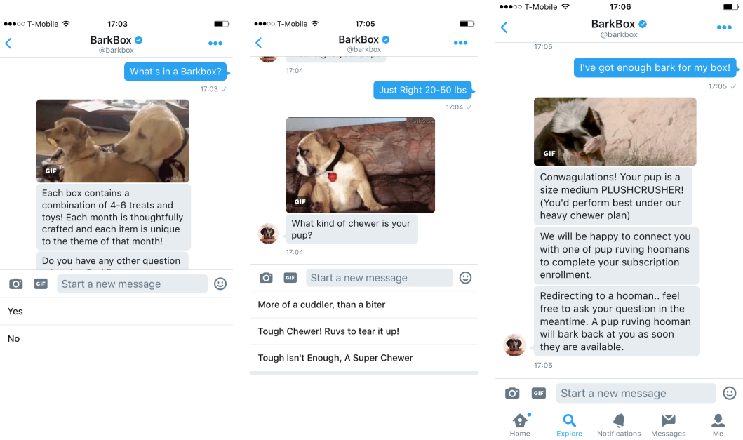 Barkbox-Twitter-Chatbot