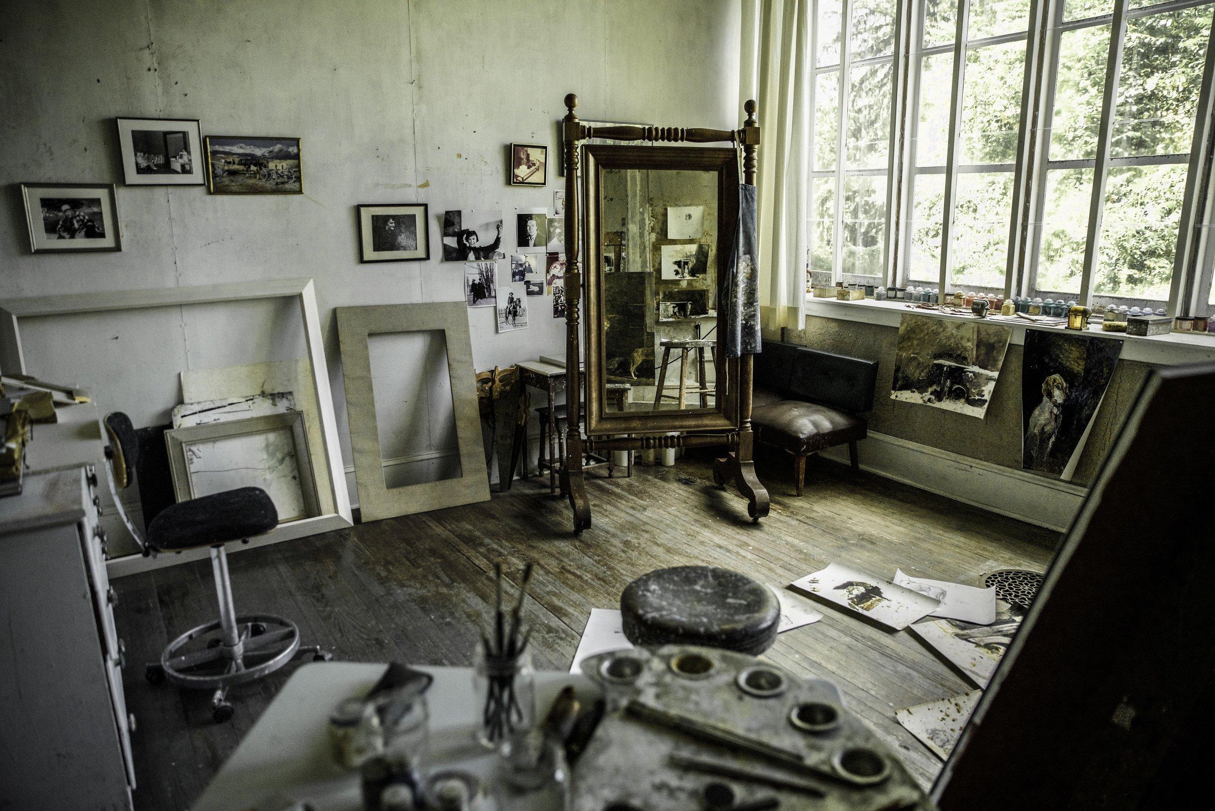 Wyeth's Studio, © Phil Bradshaw, FreshFly