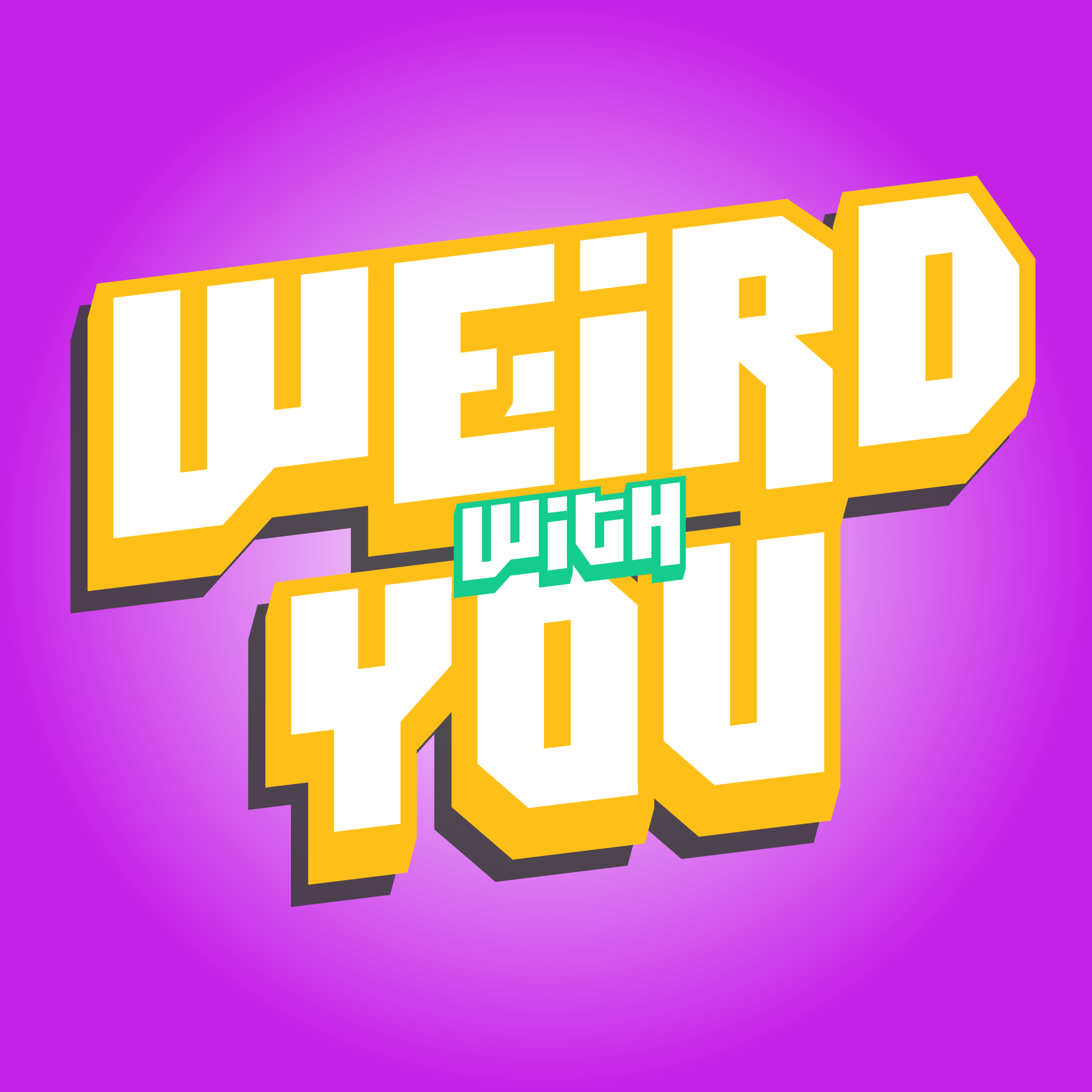 """- Weird With You is a comedy podcast that trickles through your unsuspecting ears like a slow and viscus river of maple syrup. Straight outa the frigid Canadian wilderness of Toronto, join Justine and Santiago as they tickle your funny bone, and gently caress your humorous with a slew of off the wall topics, silly tangents, and ridiculous segments. Weird With You isn't afraid to ask the tough questions you never knew you needed answers to: """"Would The Lord of the Rings have been shorter if Frodo had been a drone?"""" """"What are the funeral rites of the common Christmas elf?"""" and """"Are pugs a myth?""""Join us every Wednesday for your weekly dose of weird, conversational quirk.Come for the podcast, stay for our totally legit, not at all made up sponsors"""