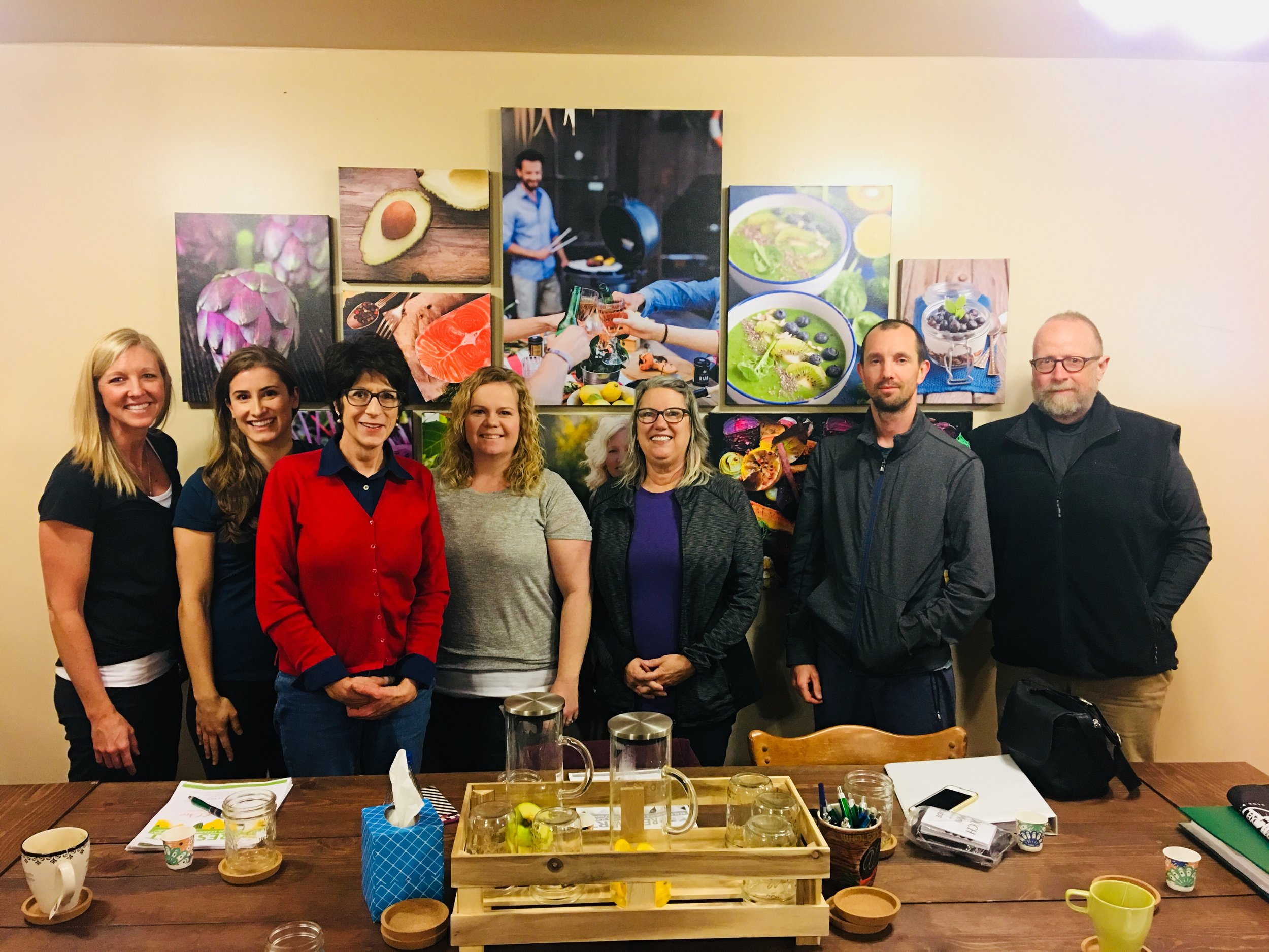 Spot the Radius team member in Wholesome Beet Nutrition's 5-week nutrition 'Restart' program. This group just graduated!  #employeewellness #companyculture #feelyourbest
