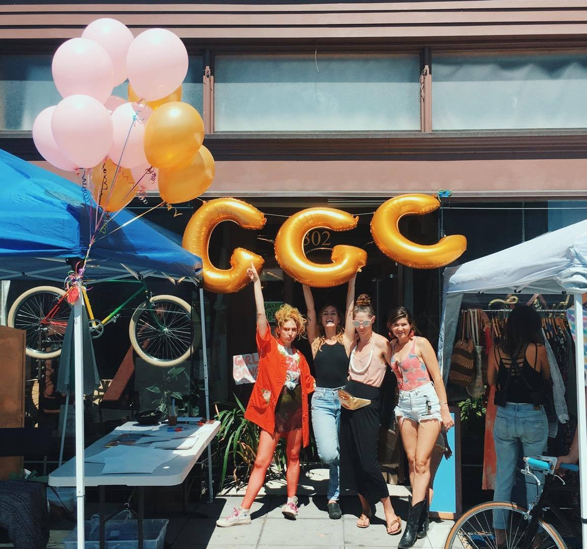 The first GGC ever, at  Luckyduck Bicycle Cafe  August 2017