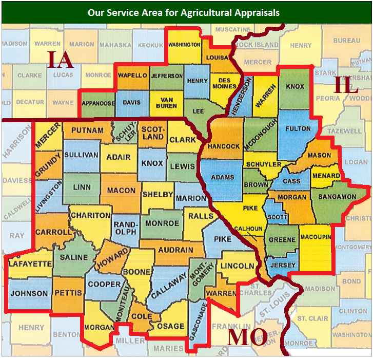 agricultural appraiser missouri