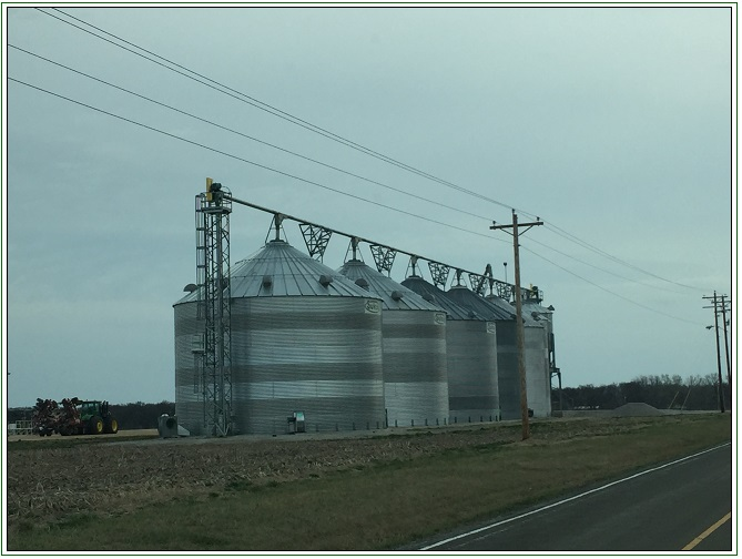 appraiser grain facility on a Missouri Farm