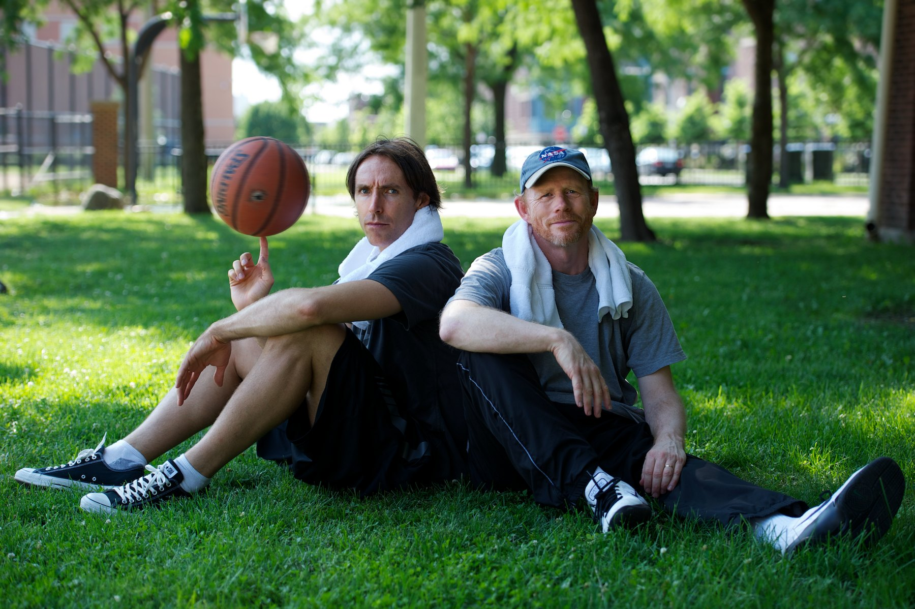 RON HOWARD + STEVE NASH